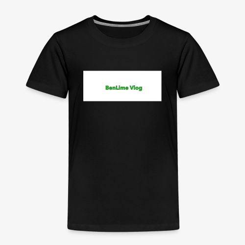 The BenLime Vlog sing - Premium-T-shirt barn