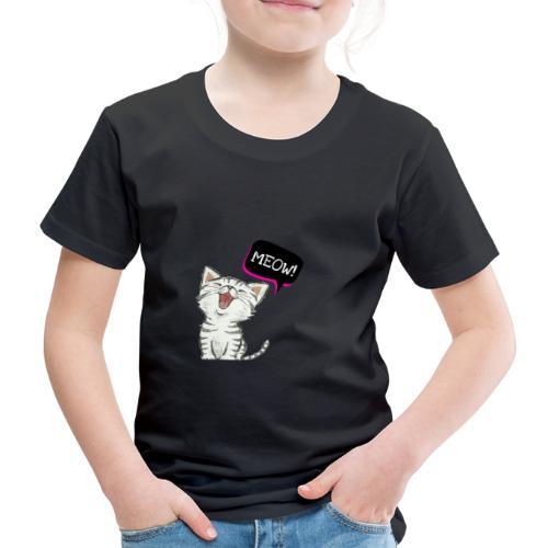 Cat meow - Kids' Premium T-Shirt