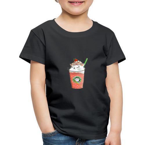 Catpuccino White - Kids' Premium T-Shirt