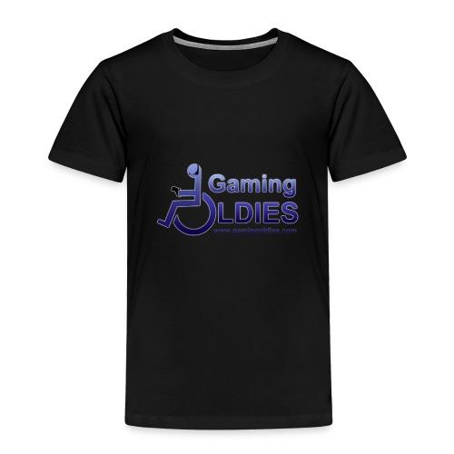 Gaming OldiesV4Merchandise copy png - Kids' Premium T-Shirt