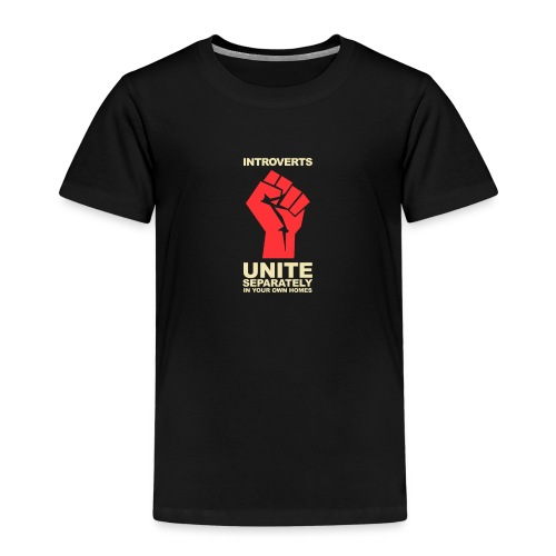 Introverts Unite - Premium-T-shirt barn