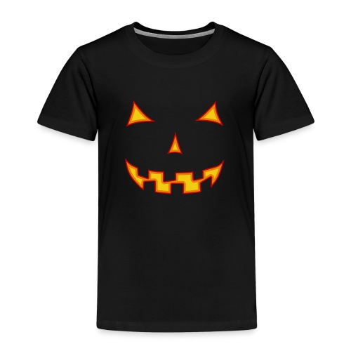 Halloween-Maske - Kinder Premium T-Shirt