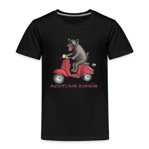 Hyäne - Achtung bissig - Kinder Premium T-Shirt