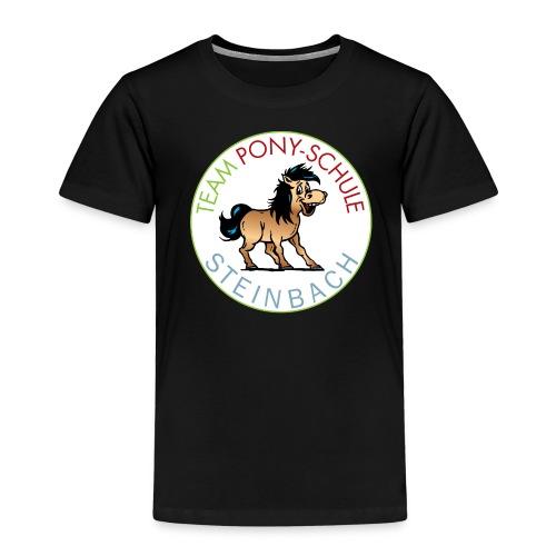 TeamPonySchule Steinbach png - Kinder Premium T-Shirt