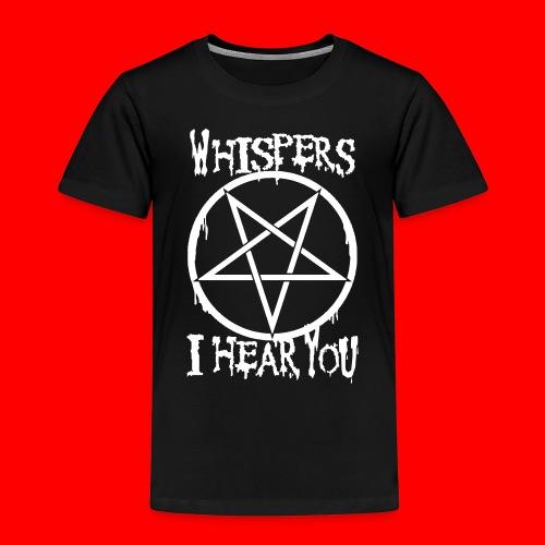 wHISPERSiHEARyou666 - Kids' Premium T-Shirt