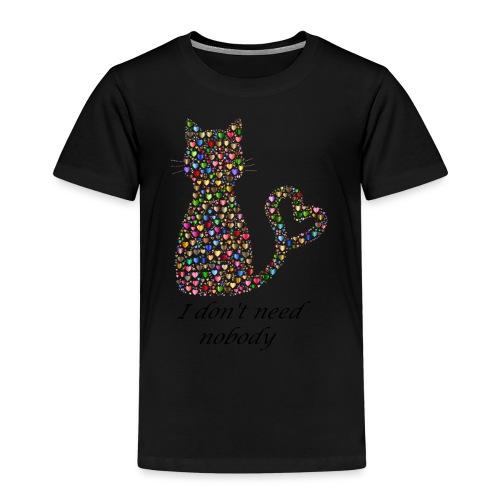 Isle of loving Cat - Kids' Premium T-Shirt