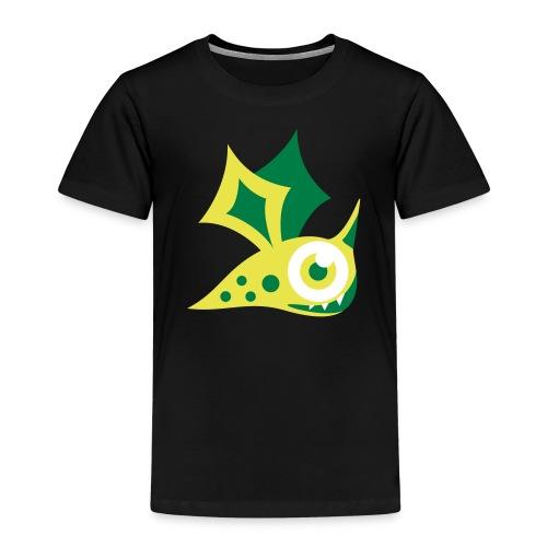 Monster grün - Kinder Premium T-Shirt