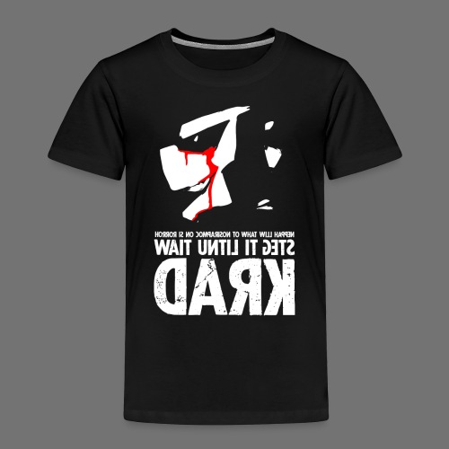 horrorcontest sixnineline - Børne premium T-shirt