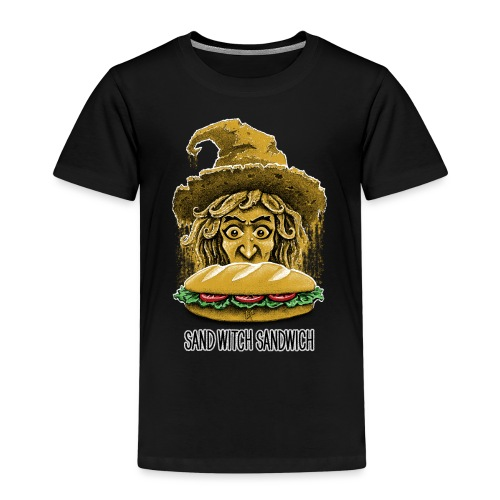 Sand Witch Sandwich V1 - Kids' Premium T-Shirt