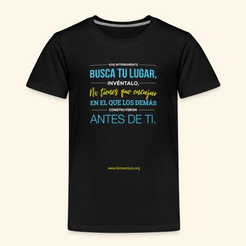 Busca tu lugar - Camiseta premium niño