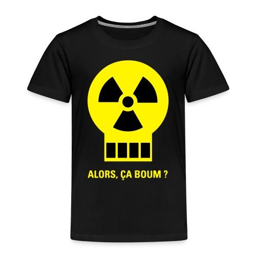 Logo humour Alors, ça boum? - T-shirt Premium Enfant
