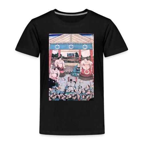 Sumo Japan Kunst - Kinder Premium T-Shirt