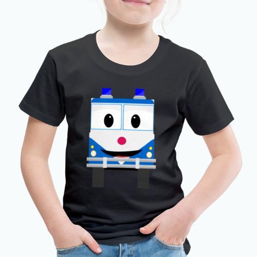 Bobo Police - Appelsin - Premium-T-shirt barn