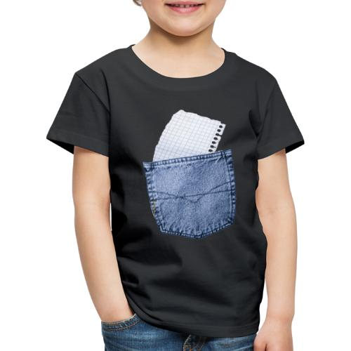 Jeans Baggy by #OneCreativeArts - Kinder Premium T-Shirt