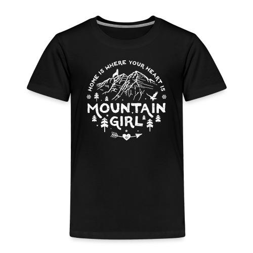 Mountain Girl Shop w - Kids' Premium T-Shirt