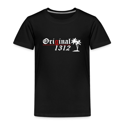 1312 logo white - Kinder Premium T-Shirt