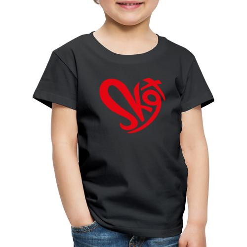 Salzkammergut Herz rot - Kinder Premium T-Shirt