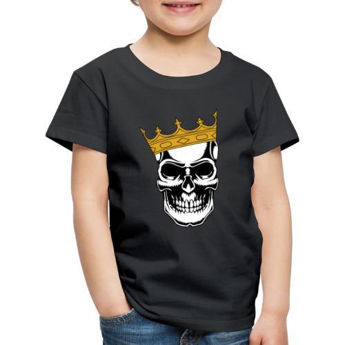 Skullking König Skull Totenkopf King - Kinder Premium T-Shirt