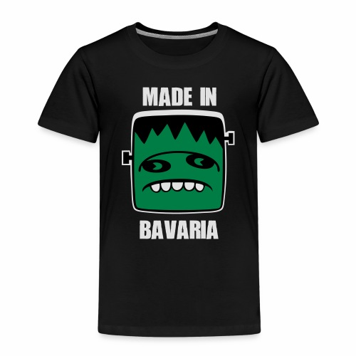 Fonster weiß made in Bavaria - Kinder Premium T-Shirt
