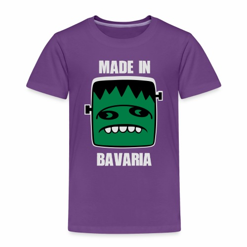 Fonster weiß made in Bavaria - Kinder Premium T-Shirt