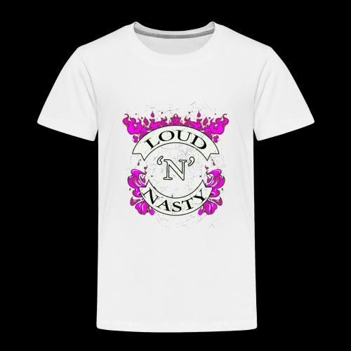 LOUD N NASTY - Fire - Premium-T-shirt barn
