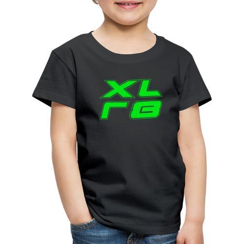 XLR8 Motor und Sport green - Kinder Premium T-Shirt