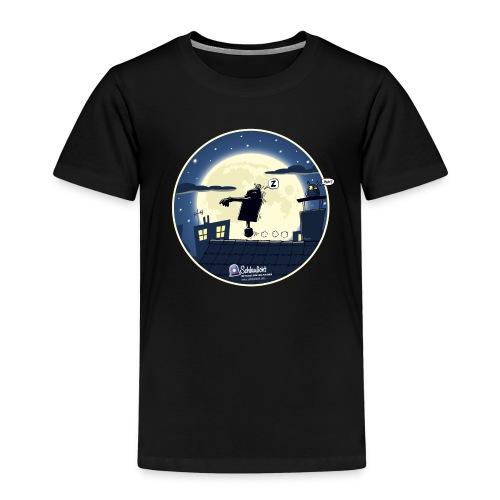 Emil und der Mond - Kinder Premium T-Shirt