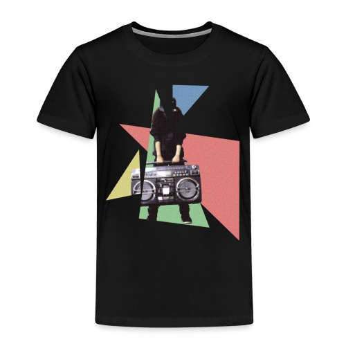 StereoGirl concept2 2 png - Kinderen Premium T-shirt