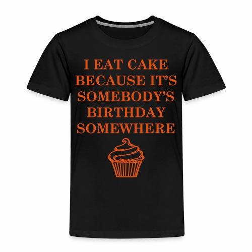 petit gâteau d'anniversaire - T-shirt Premium Enfant