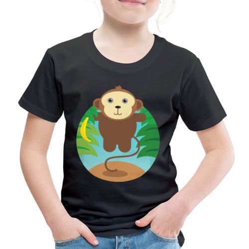 Banana Monkey - Kinder Premium T-Shirt