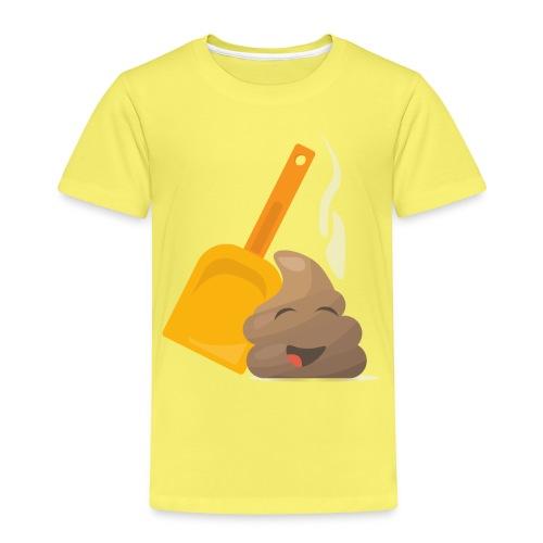 Funny Poop Emoji - Kids' Premium T-Shirt