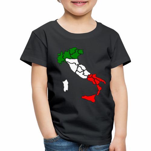 Karte von Italien - Kinder Premium T-Shirt