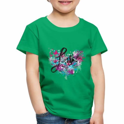 Love with Heart - Kids' Premium T-Shirt