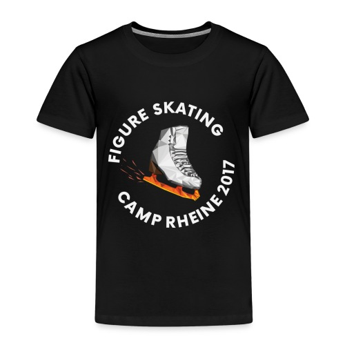 1st International Figure Skating Camp in Rheine - Kinder Premium T-Shirt