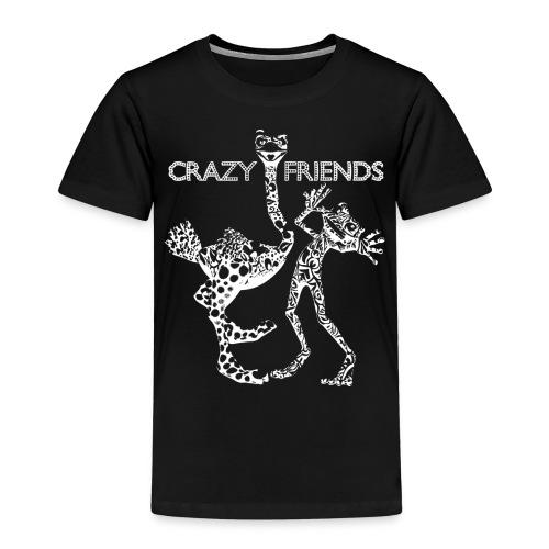 crazy friends W png - Camiseta premium niño
