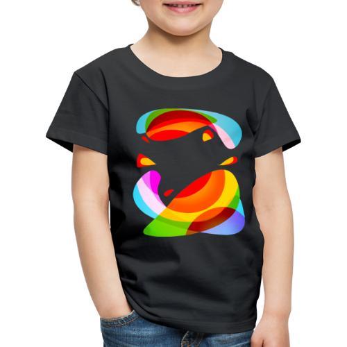 Energiczne kształty - Koszulka dziecięca Premium