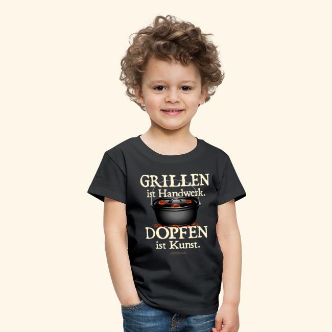 Dutch Oven T-Shirt Grillen Dopfen Dutch Oven Motiv