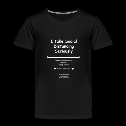 Social distancing - Kinderen Premium T-shirt