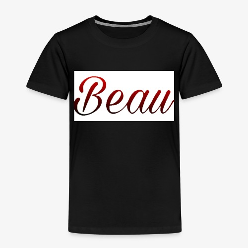 itzBeau Beau with white background - Kids' Premium T-Shirt