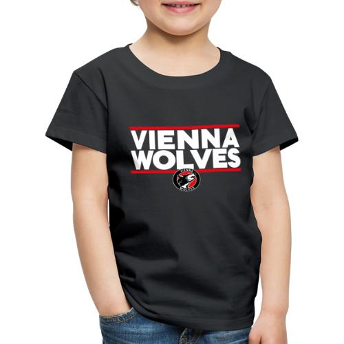 Vienna Wolves Shirt Hell - Kinder Premium T-Shirt