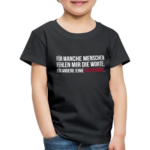 PSYCHO-Edition: Kettensäge Shirt - Kinder Premium T-Shirt
