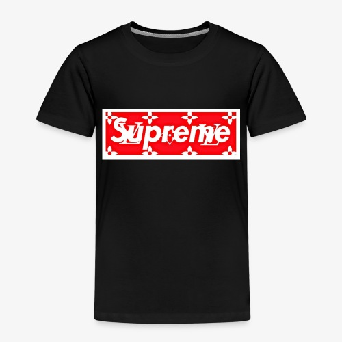 logoLVsuprem - Premium-T-shirt barn