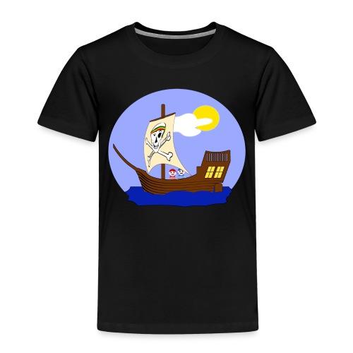 Koggen-T-Shirt für Nachwuchspiraten - Kinder Premium T-Shirt