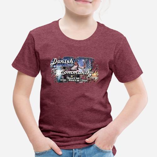 Dansih community - fivem2 - Børne premium T-shirt