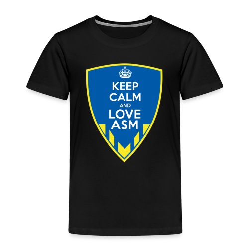 Blason Keep Calm And Love ASM - T-shirt Premium Enfant