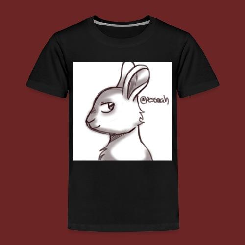 Konijn van @pessaah volg haar op twitter - Kinderen Premium T-shirt