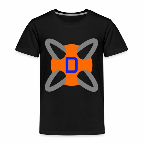 Drawyah Logo (Large) - Kids' Premium T-Shirt