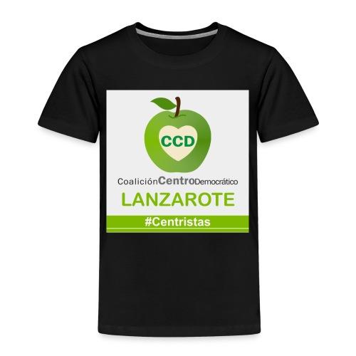 CCD LANZAROTE - Camiseta premium niño
