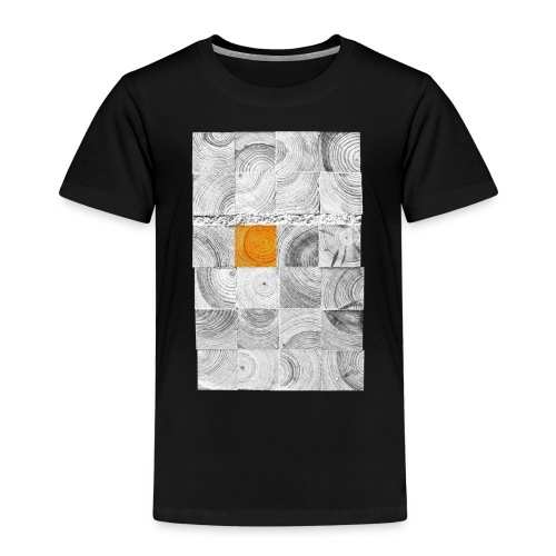 Cubes de Bois - T-shirt Premium Enfant