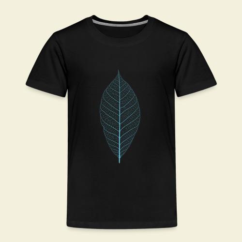 Feuille bleu Squelette - T-shirt Premium Enfant